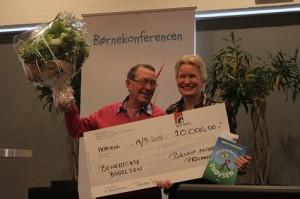 Benedicte Bodilsen vinder benny andersen prisen 2013